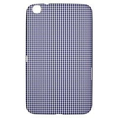 USA Flag Blue and White Gingham Checked Samsung Galaxy Tab 3 (8 ) T3100 Hardshell Case