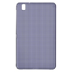 USA Flag Blue and White Gingham Checked Samsung Galaxy Tab Pro 8.4 Hardshell Case