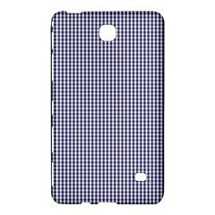 USA Flag Blue and White Gingham Checked Samsung Galaxy Tab 4 (7 ) Hardshell Case