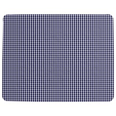 USA Flag Blue and White Gingham Checked Jigsaw Puzzle Photo Stand (Rectangular)