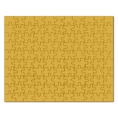 Designer Fall 2016 Color Trends-Spicy Mustard Yellow Rectangular Jigsaw Puzzl