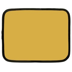 Designer Fall 2016 Color Trends-Spicy Mustard Yellow Netbook Case (XXL)