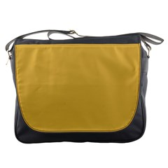 Designer Fall 2016 Color Trends-Spicy Mustard Yellow Messenger Bags