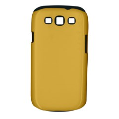 Designer Fall 2016 Color Trends Spicy Mustard Yellow Samsung Galaxy S Iii Classic Hardshell Case (pc+silicone)