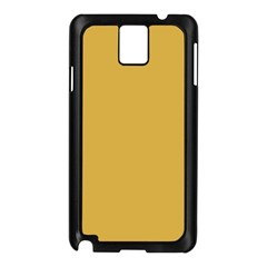 Designer Fall 2016 Color Trends-Spicy Mustard Yellow Samsung Galaxy Note 3 N9005 Case (Black)