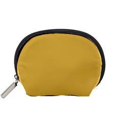 Designer Fall 2016 Color Trends-Spicy Mustard Yellow Accessory Pouches (Small)