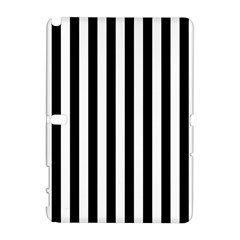 Large Black and White Cabana Stripe Galaxy Note 1