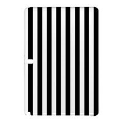 Large Black and White Cabana Stripe Samsung Galaxy Tab Pro 12.2 Hardshell Case