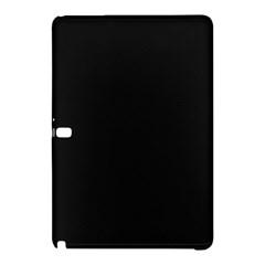 Black and Grey Perforated PInhole Carbon Fiber Samsung Galaxy Tab Pro 10.1 Hardshell Case