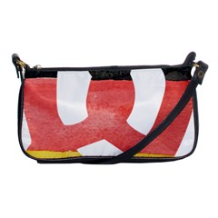 Pretzel in Hand-Painted Water Colors of German Flag Shoulder Clutch Bags