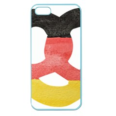 Pretzel in Hand-Painted Water Colors of German Flag Apple Seamless iPhone 5 Case (Color)