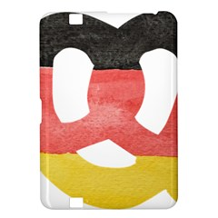 Pretzel in Hand-Painted Water Colors of German Flag Kindle Fire HD 8.9