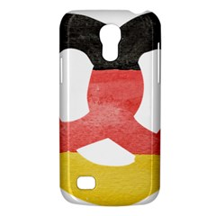 Pretzel in Hand-Painted Water Colors of German Flag Galaxy S4 Mini