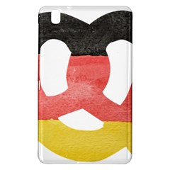 Pretzel in Hand-Painted Water Colors of German Flag Samsung Galaxy Tab Pro 8.4 Hardshell Case