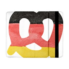Pretzel in Hand-Painted Water Colors of German Flag Samsung Galaxy Tab Pro 8.4  Flip Case