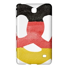 Pretzel in Hand-Painted Water Colors of German Flag Samsung Galaxy Tab 4 (7 ) Hardshell Case