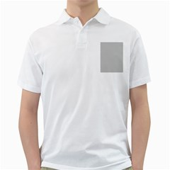 Grey and White simulated Carbon Fiber Golf Shirts