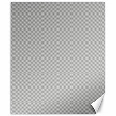 Grey and White simulated Carbon Fiber Canvas 20  x 24
