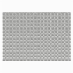 Grey and White simulated Carbon Fiber Large Glasses Cloth