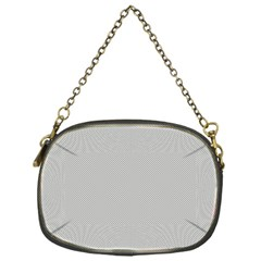 Grey and White simulated Carbon Fiber Chain Purses (One Side)