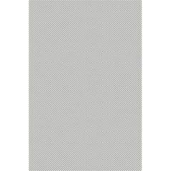 Grey and White simulated Carbon Fiber 5.5  x 8.5  Notebooks