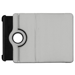 Grey and White simulated Carbon Fiber Kindle Fire HD 7