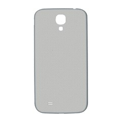 Grey and White simulated Carbon Fiber Samsung Galaxy S4 I9500/I9505  Hardshell Back Case
