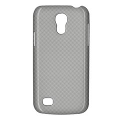 Grey and White simulated Carbon Fiber Galaxy S4 Mini