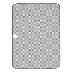 Grey and White simulated Carbon Fiber Samsung Galaxy Tab 3 (10.1 ) P5200 Hardshell Case