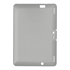 Grey and White simulated Carbon Fiber Kindle Fire HDX 8.9  Hardshell Case