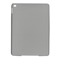 Grey and White simulated Carbon Fiber iPad Air 2 Hardshell Cases