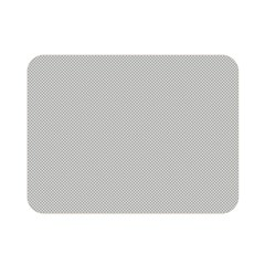 Grey and White simulated Carbon Fiber Double Sided Flano Blanket (Mini)