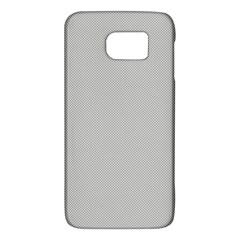 Grey and White simulated Carbon Fiber Galaxy S6