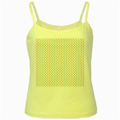 Irish Flag Green White Orange on Green St. Patrick s Day Ireland Yellow Spaghetti Tank