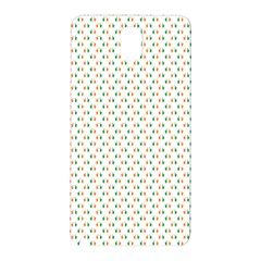 Irish Flag Green White Orange on Green St. Patrick s Day Ireland Samsung Galaxy Note 3 N9005 Hardshell Back Case