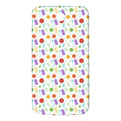 Decorative Spring Flower Pattern Samsung Galaxy Mega I9200 Hardshell Back Case