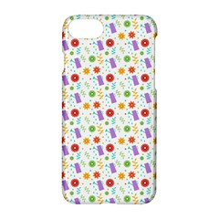 Decorative Spring Flower Pattern Apple Iphone 7 Hardshell Case