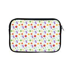 Decorative Spring Flower Pattern Apple Macbook Pro 13  Zipper Case