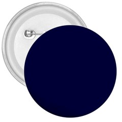 Classic Navy Blue Solid Color 3  Buttons