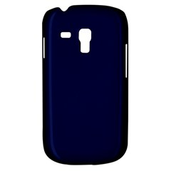 Classic Navy Blue Solid Color Galaxy S3 Mini