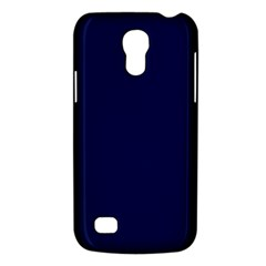 Classic Navy Blue Solid Color Galaxy S4 Mini