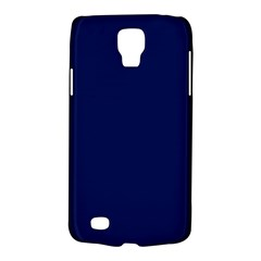 Classic Navy Blue Solid Color Galaxy S4 Active