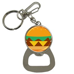 Hamburger Bread Food Cheese Button Necklaces