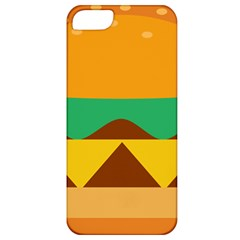 Hamburger Bread Food Cheese Apple iPhone 5 Classic Hardshell Case