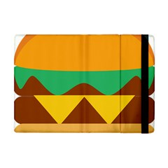 Hamburger Bread Food Cheese Apple iPad Mini Flip Case
