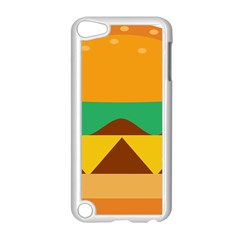 Hamburger Bread Food Cheese Apple iPod Touch 5 Case (White)