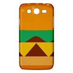 Hamburger Bread Food Cheese Samsung Galaxy Mega 5.8 I9152 Hardshell Case