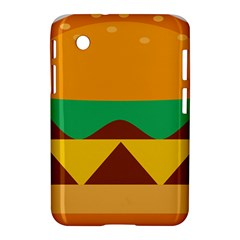 Hamburger Bread Food Cheese Samsung Galaxy Tab 2 (7 ) P3100 Hardshell Case