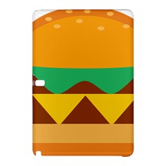 Hamburger Bread Food Cheese Samsung Galaxy Tab Pro 12.2 Hardshell Case