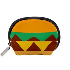 Hamburger Bread Food Cheese Accessory Pouches (Small)